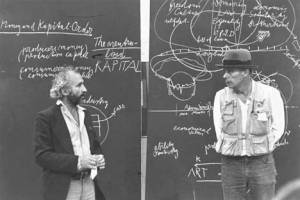 Joseph Beuys and Richard Demarco