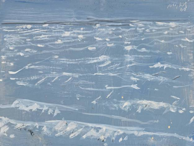 'Grey Marine', 2000. Alex Katz