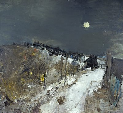 Catterline in Winter. Joan Eardley
