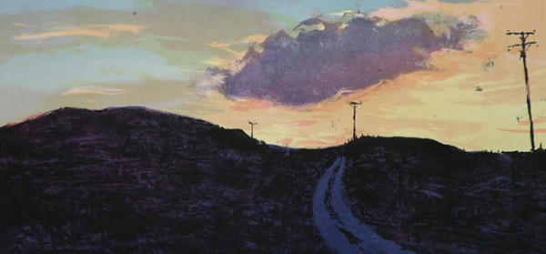 Indigo Road. Kate Downie