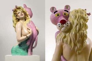 Jeff Koons, Pink Panther. 1988
