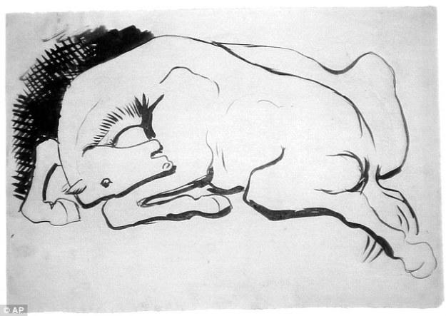 Picasso, Horse