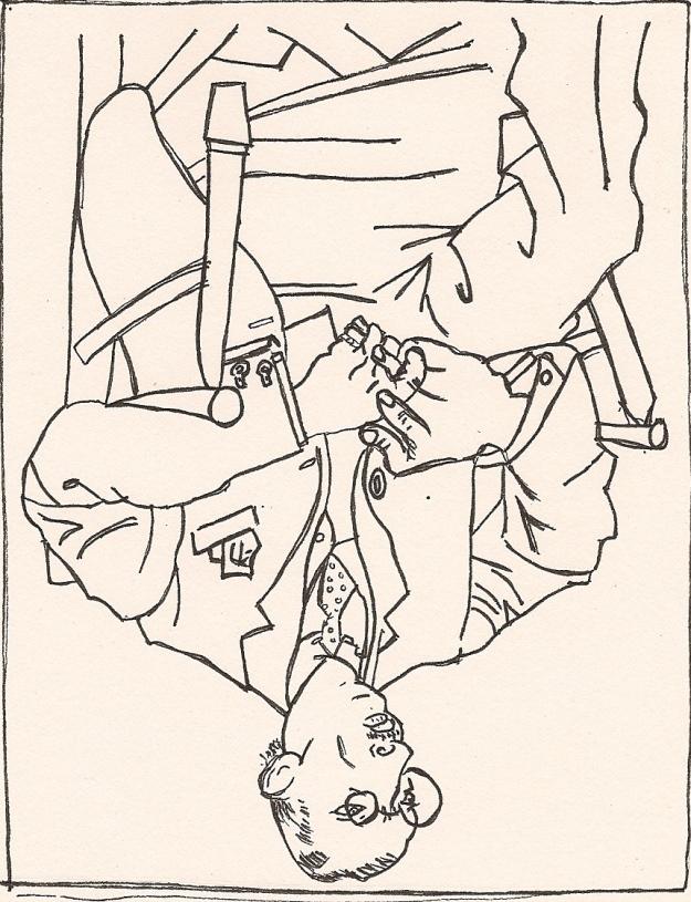 Picasso, Portrait of Igor Stravinsky
