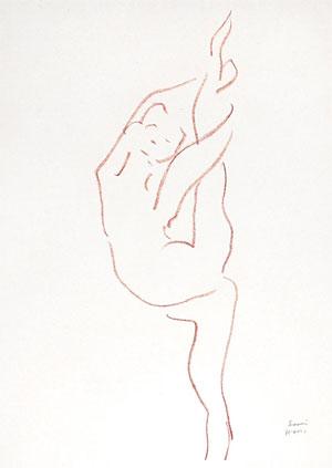Danseuse Acrobate, Matisse