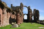 Remains of Lindisfarne Monastery