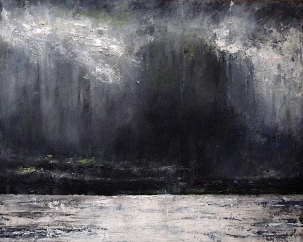 Stormy Sky Lindisfarne