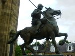 Statue of Borders Reiver, Galashiels