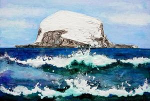 Bass Rock from North Berwick (2)