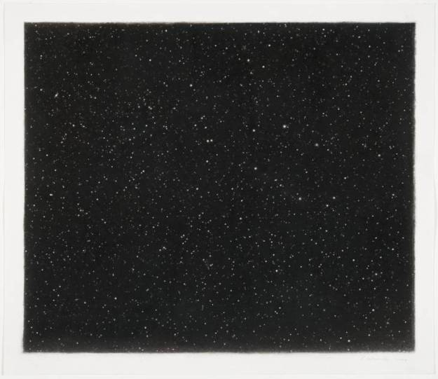 Night Sky #18 1998 Vija Celmins