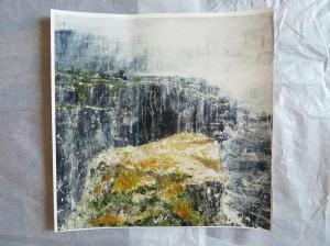 "'North - Transmigration'. 12x12"" giclee print"
