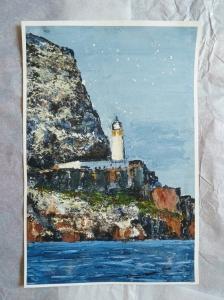 'North Berwick, Autum'. 14x9.5 inch giclee print