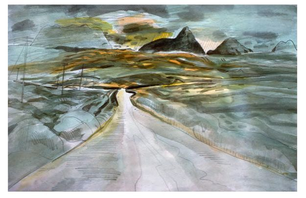 'The Road to Meikle Seggie' Richard Demarco
